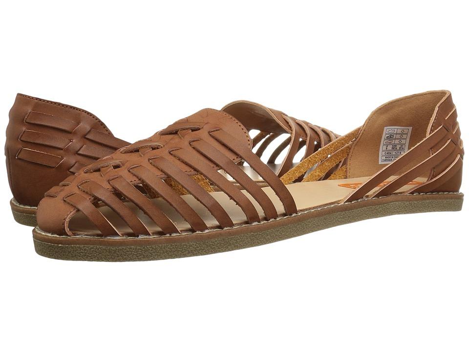 Vintage Sandals | Wedges, Espadrilles – 30s, 40s, 50s, 60s, 70s Rocket Dog Kelton Tan Austin Womens Slip on  Shoes $49.95 AT vintagedancer.com