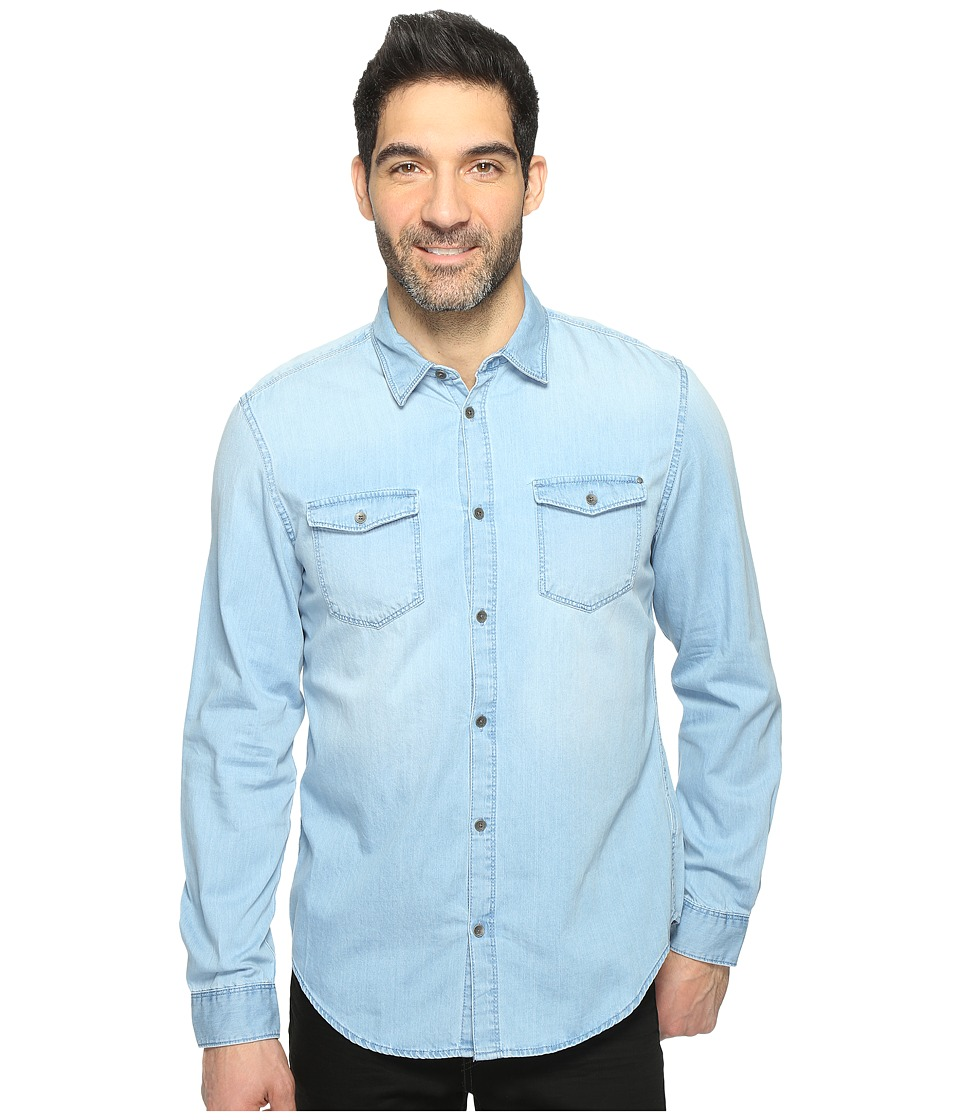 Calvin Klein Jeans - Denim Shirt (Chill Indigo) Mens Clothing