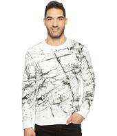 Calvin Klein Jeans - Marble Printed Crew Neck Sweatshirt