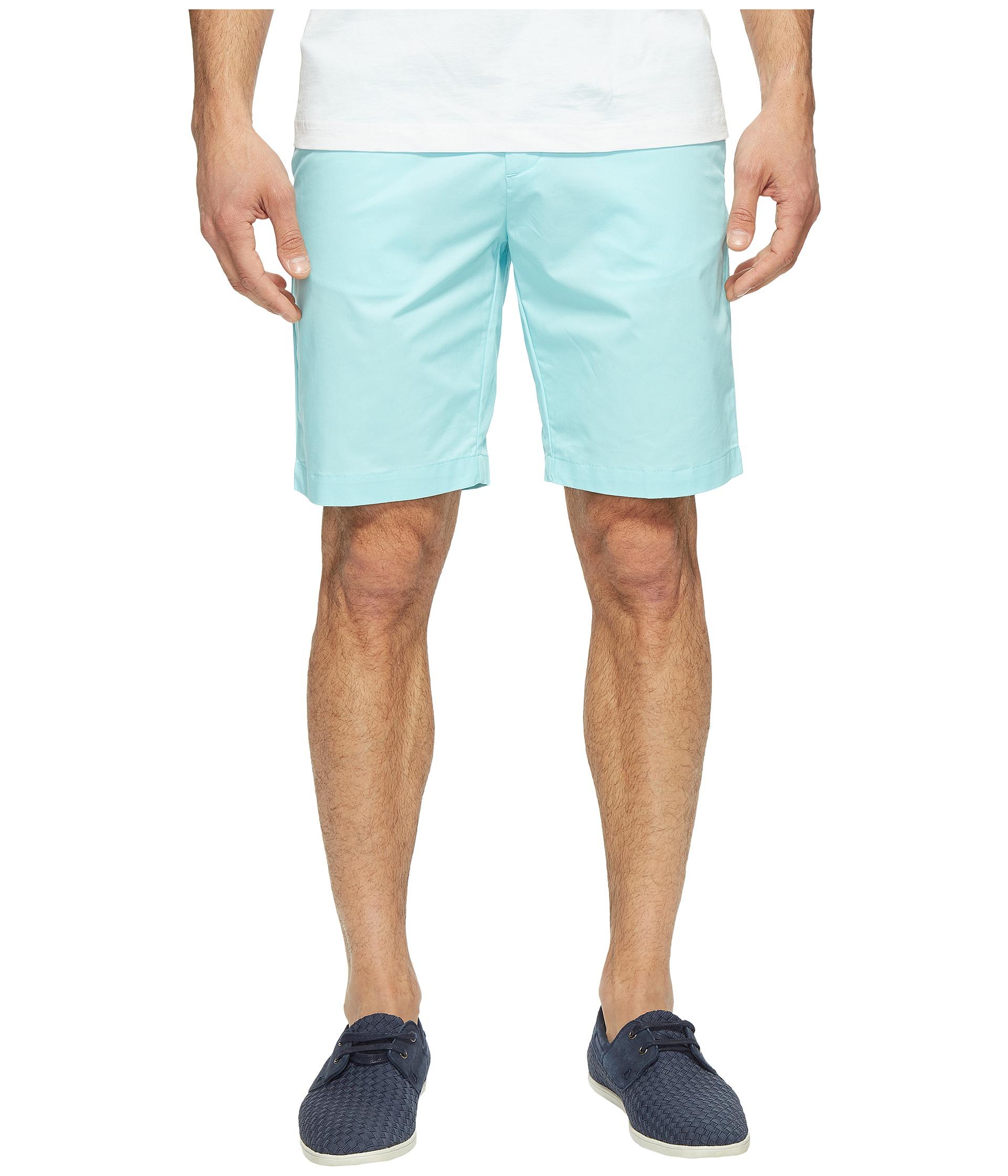 calvin klein twill walking shorts aqua air zappos