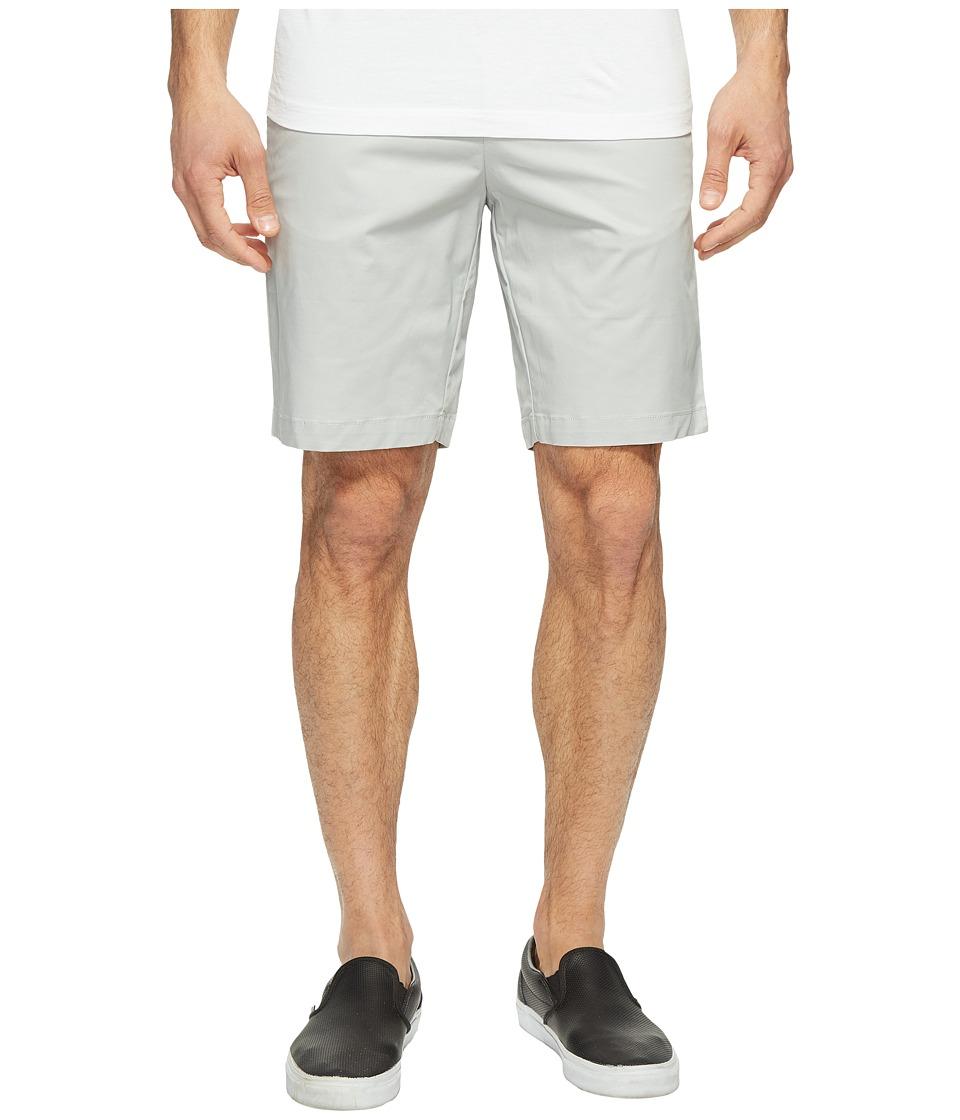 Calvin Klein Twill Walking Shorts (Cool Steel) Men