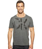 Calvin Klein Jeans - Metallic Logo Long Hem Tee