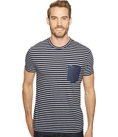 Calvin Klein Jeans - Stripe Tee with Denim Pocket