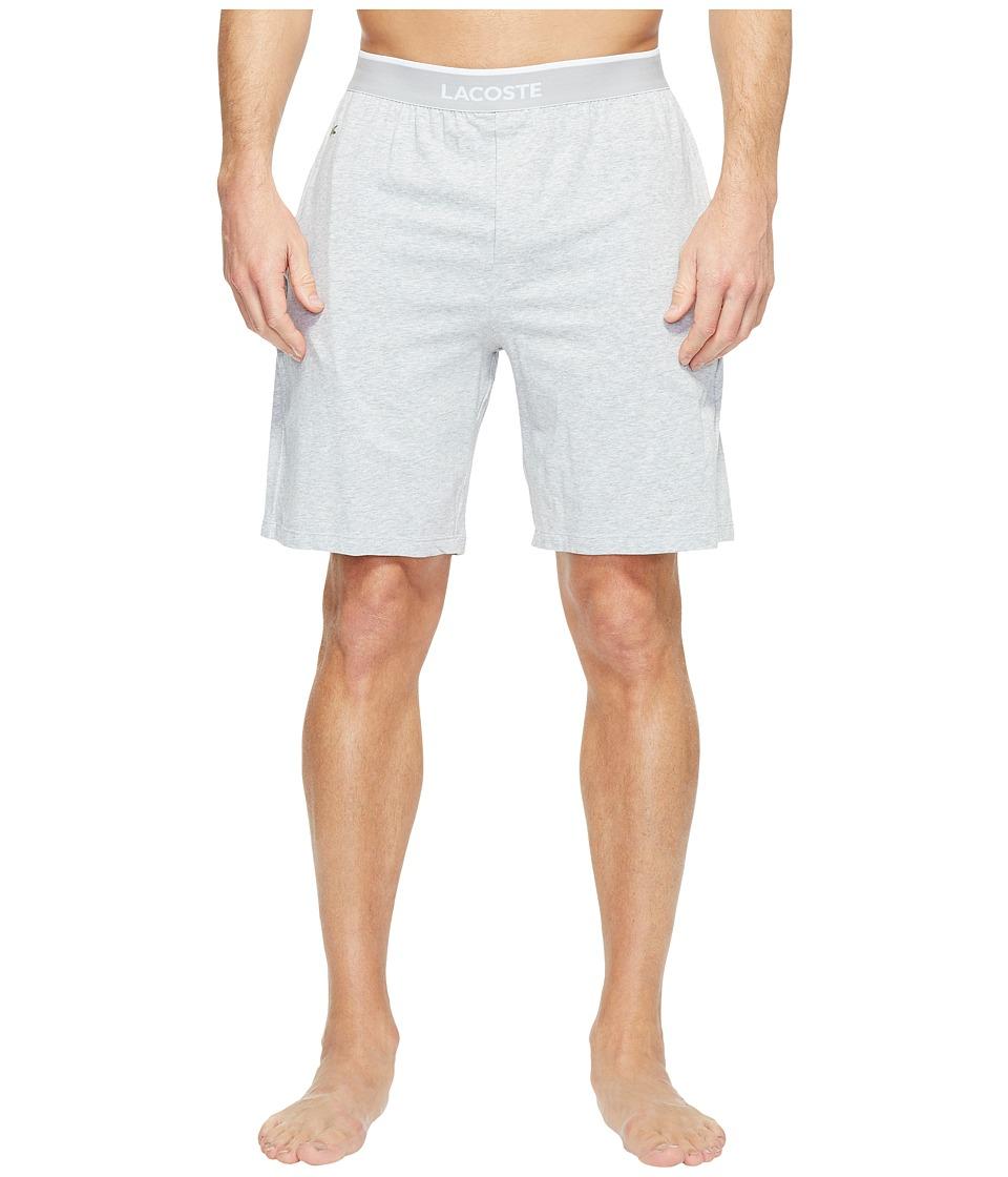 Lacoste Colours Sleep Shorts (Grey) Men