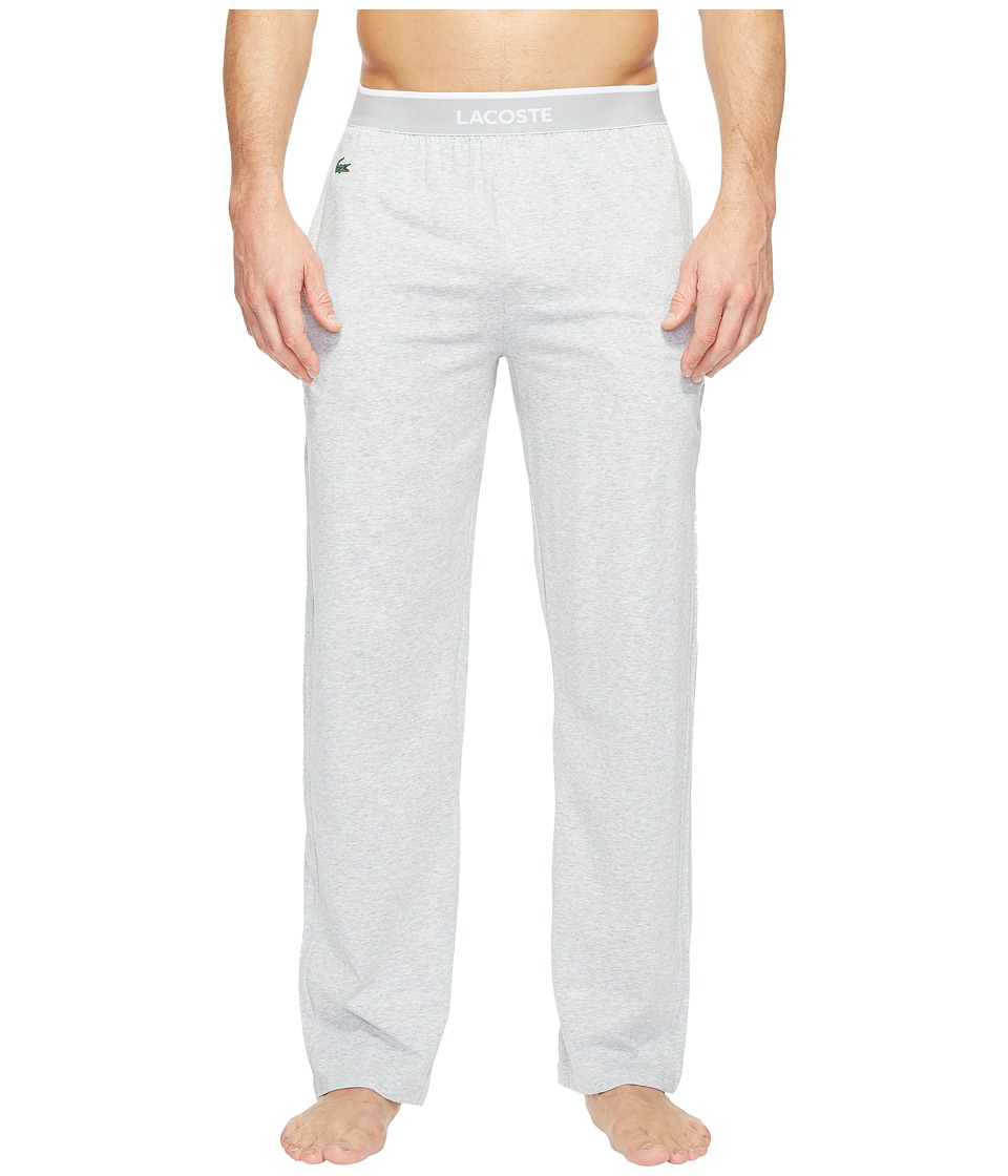 Lacoste - Solid Pants (Grey) Mens Pajama