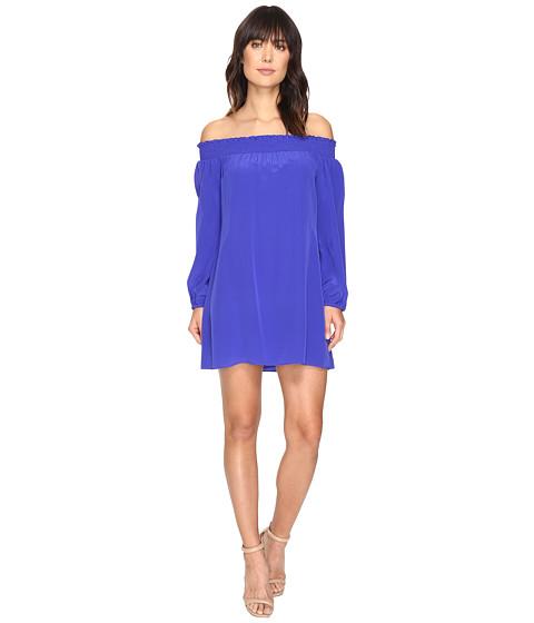 Nicole Miller La Plage by Nicole Miller Rocky Off Shoulder Dress Cover-Up - Blueberry