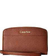 Calvin Klein - Saffiano Wallet w/ Strap