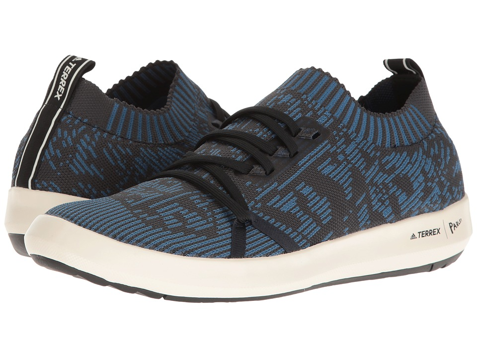 adidas Outdoor Terrex CC Boat Parley (Core Blue/Core Black/Chalk White) Men