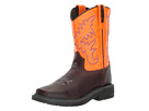 Old West Kids Boots Square Toe Work Sole Boot (Toddler/Little Kid)
