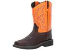 Old West Kids Boots - Square Toe Work Sole Boot (Big Kid)