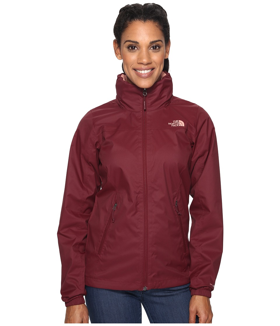 North Face Resolve Plus Jacket (Deep Garnet Red (Prior Se...