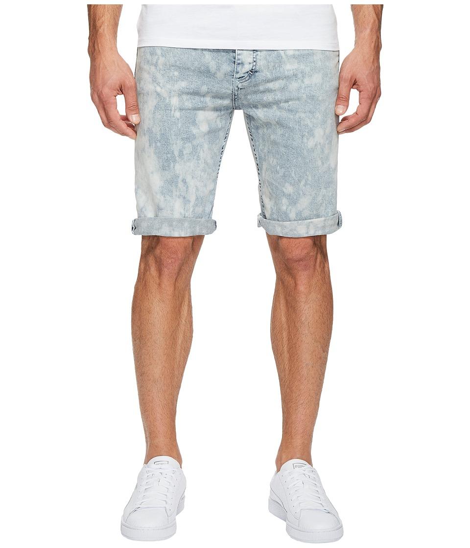 Calvin Klein Jeans Purple Dusk Denim Shorts (Purple Dusk) Men