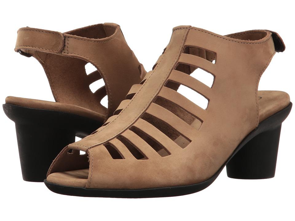 Arche Elexor (Sand Nubuck) Women's Shoes