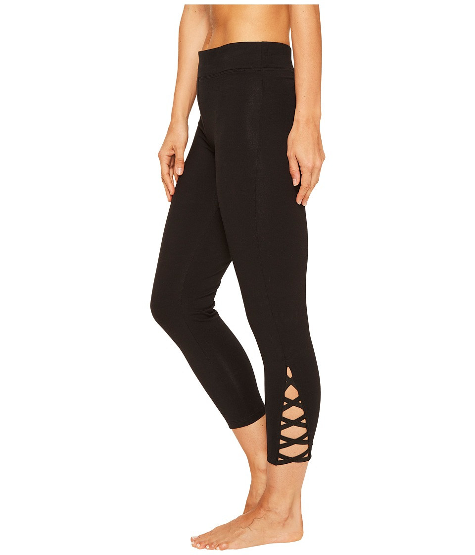 Yummie - Cotton Control Skimmer Leggings with Leg Detail