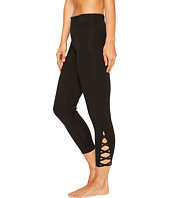 Yummie by Heather Thomson - Cotton Control Skimmer Leggings with Leg Detail