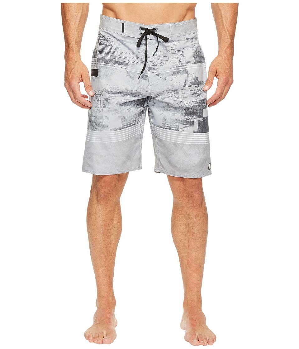 Tavik Filter Boardshorts (Light Grey Glitch Stripe) Men