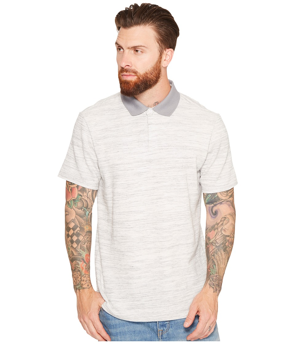 Tavik Osaka Polo (Heather Grey) Men