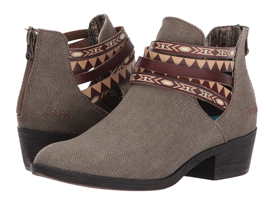Blowfish Sujan (Brown Rancher Canvas/Whiskey Dyecut PU) Women