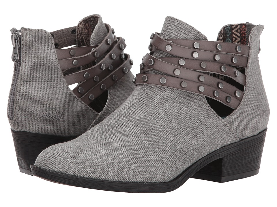 Blowfish Sujan (Steel Grey Rancher Canvas/Grey Dyecut PU) Women