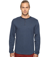 Original Penguin - Long Sleeve Wool Look Herringbone Tee