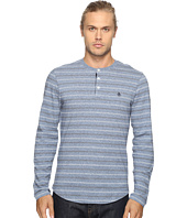 Original Penguin - Long Sleeve Marled Striped Henley