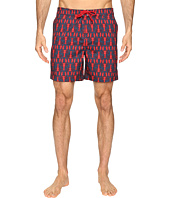 Original Penguin - Lobster Print Fixed Waist Swim Shorts