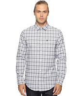 Original Penguin - Long Sleeve Jaspe Plaid Oxford Woven Shirt