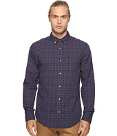 Original Penguin - Vintage Gym Long Sleeve Tattersall Check Oxford Woven Shirt