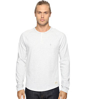 Original Penguin - Vintage Gym Long Sleeve Sueded Plated Henley