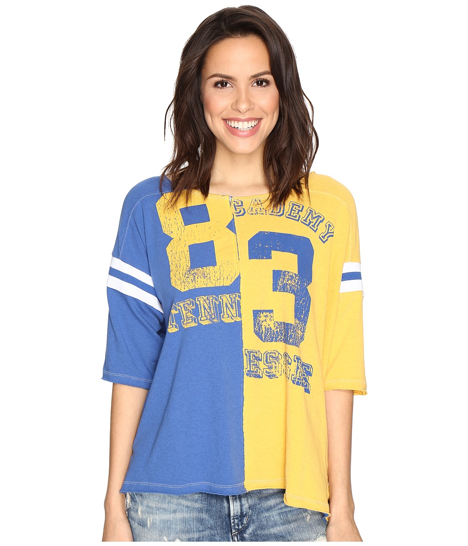 Free People Dream Player Tee (Blue) Women