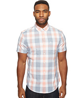 Original Penguin - Short Sleeve Jaspe Plaid Woven Shirt