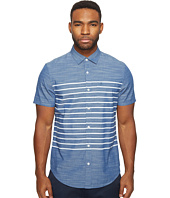 Original Penguin - Short Sleeve Printed End on End Woven Shirt