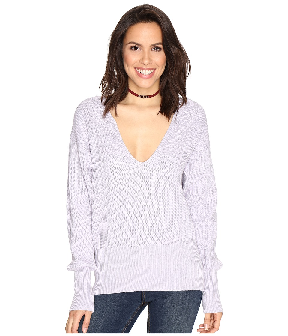 Free People Allure Pullover (Lavender) Women