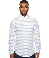 Original Penguin - Long Sleeve Horizontal Jaspe Woven Shirt