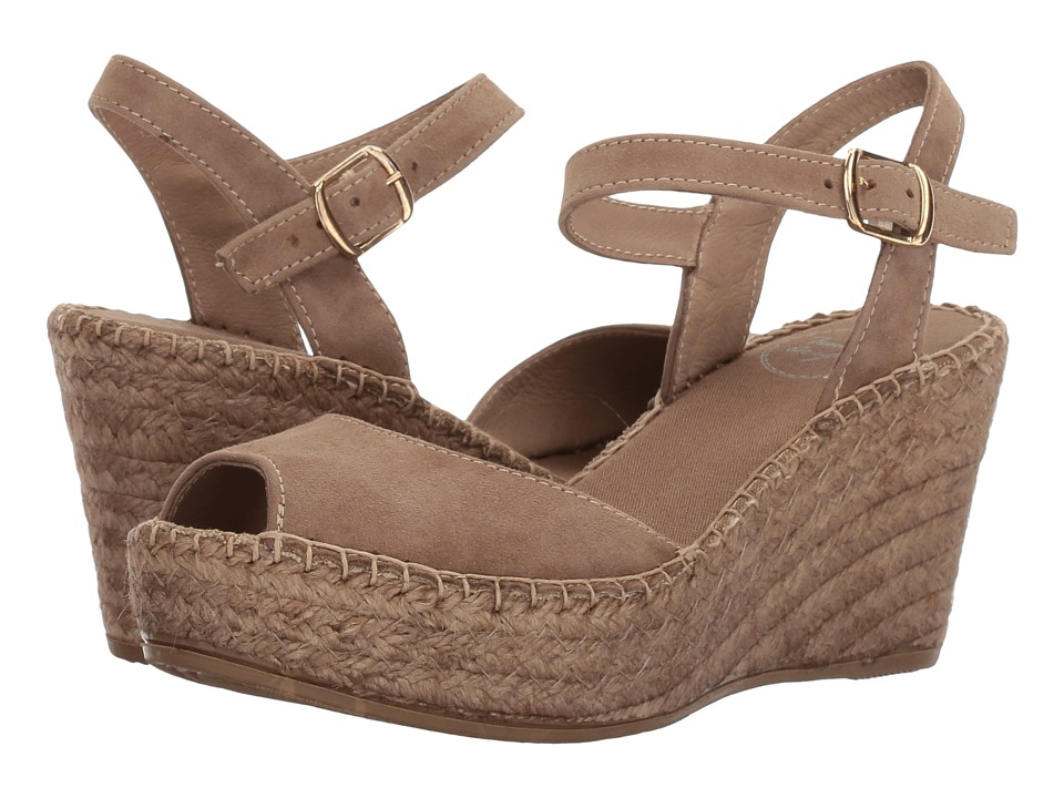 Toni Pons Laura (Taupe Suede) Women
