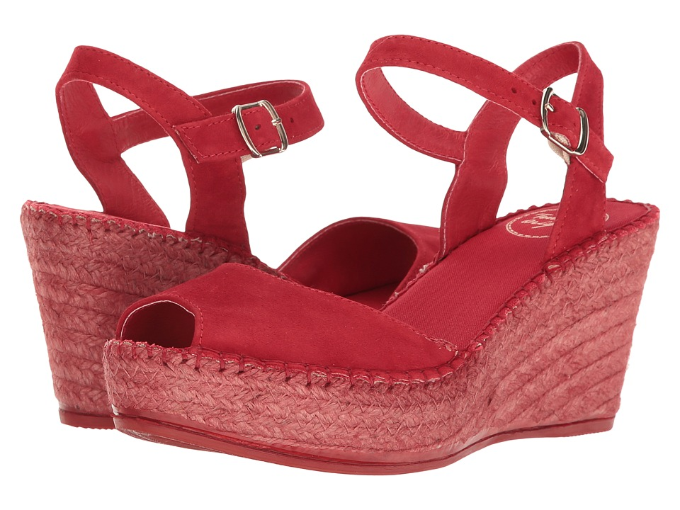 Toni Pons Laura (Red Suede) Women