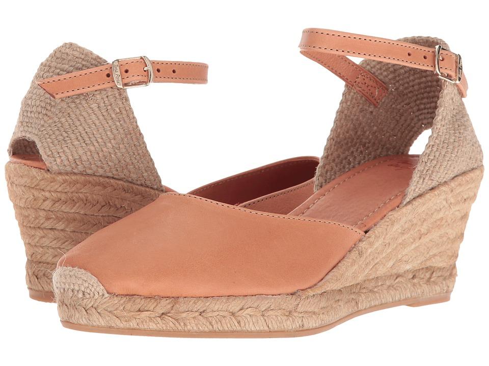 Toni Pons - Costa-5 (Tan Leather) Women's  Shoes