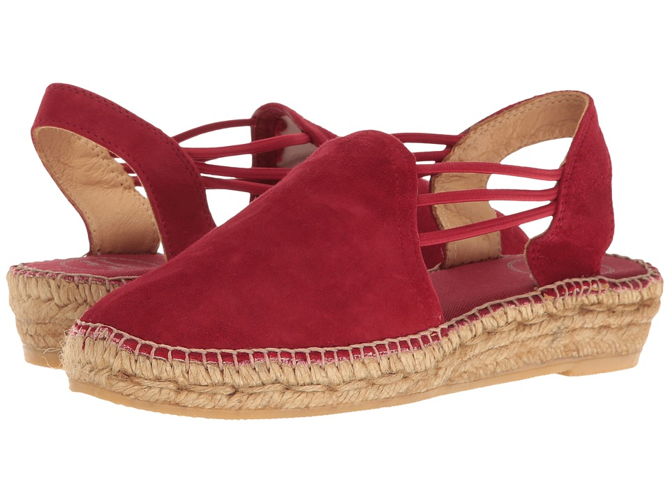 Toni Pons Nuria (Red Suede) Women