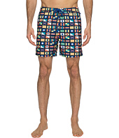 Original Penguin - Nautical Flag Printed Swim Shorts