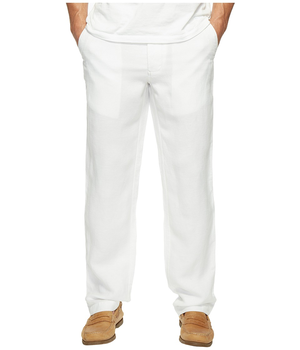 Tommy Bahama Linen The Dream Pants (Bright White) Men's C...
