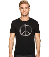 John Varvatos Star U.S.A. - Make Music Not War Graphic Tee K3021S4B