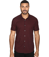 John Varvatos Star U.S.A. - Slim Fit Sport Shirt with Cuffed Short Sleeves W443S4B