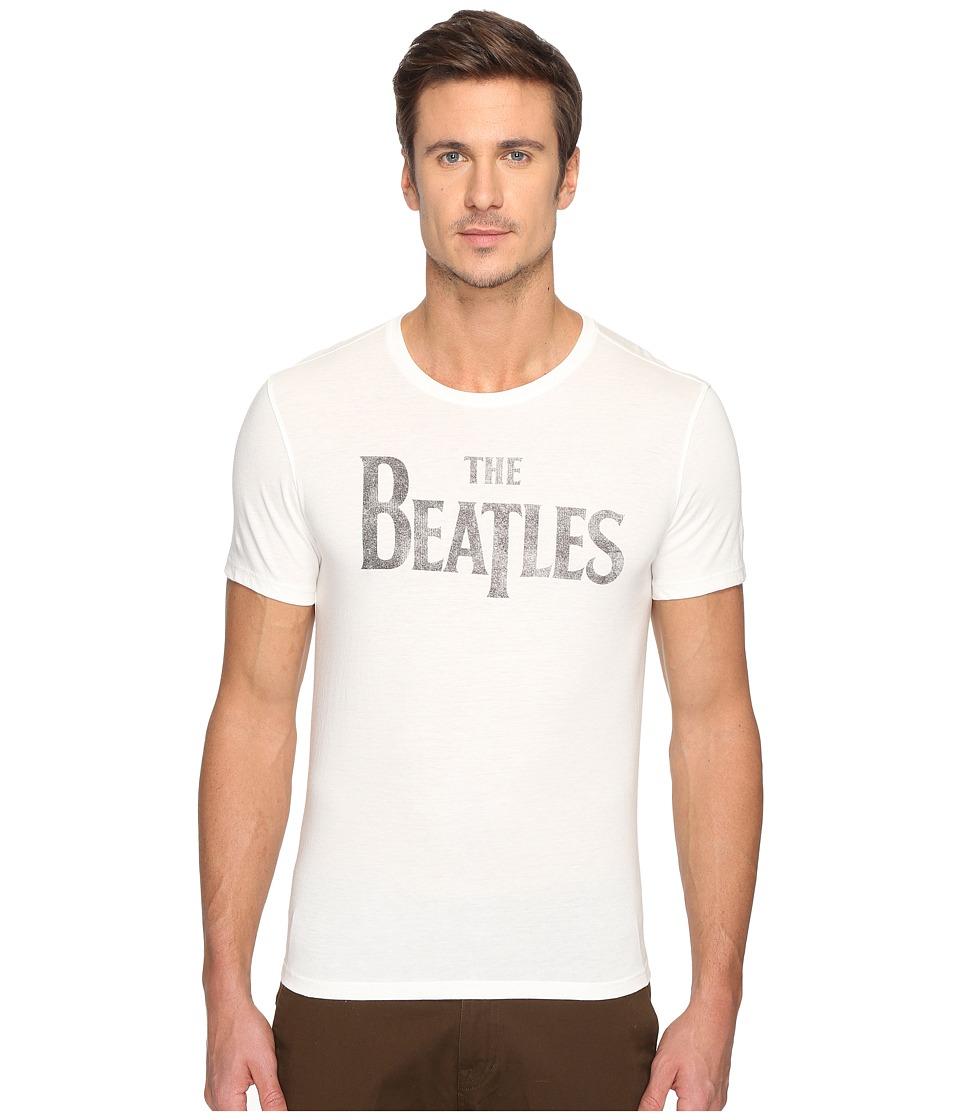 John Varvatos Star U.S.A. The Beatles Logo Graphic Tee K3011S4B (Salt) Men