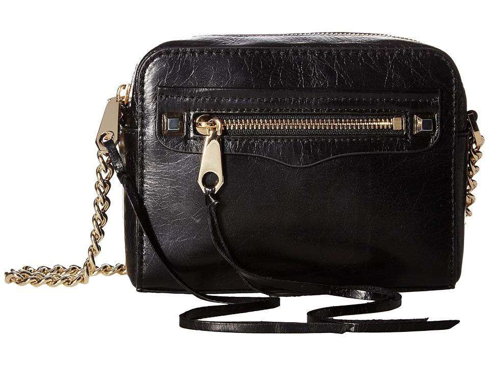 Rebecca Minkoff - Regan Camera Bag (Black) Handbags