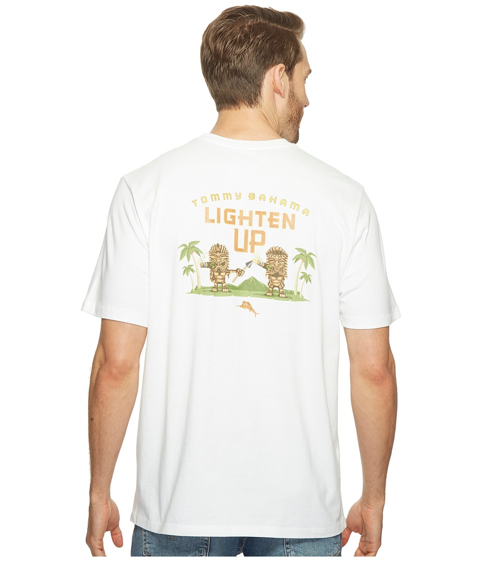 Tommy Bahama Lighten Up Tee (White) Men