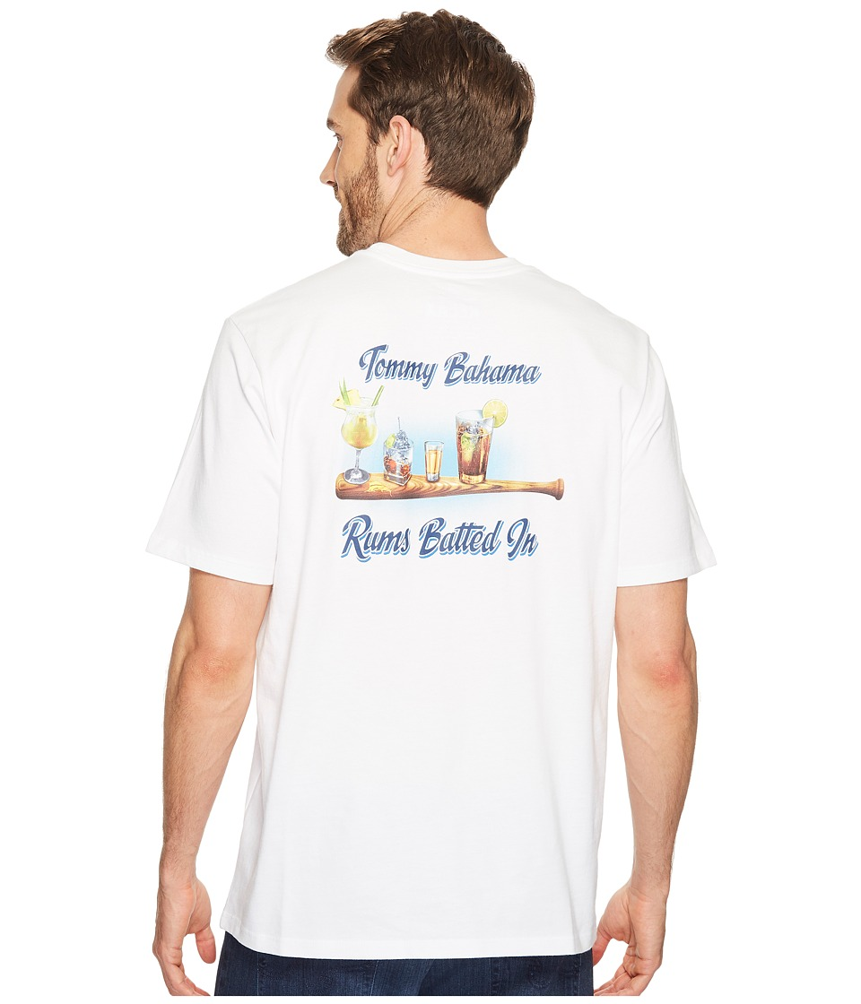 Tommy Bahama Rums Batted in Tee (White) Men