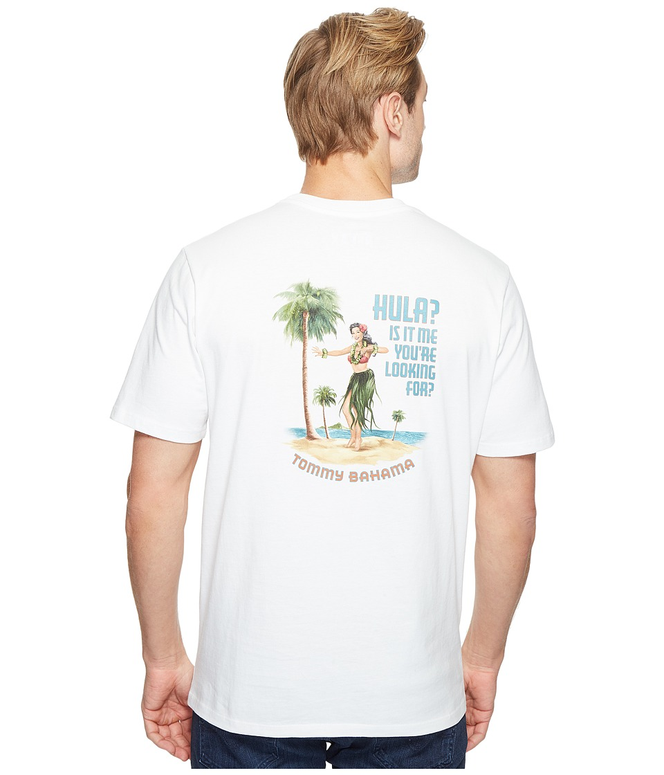 Tommy Bahama Hula Its Me Tee (White) Men