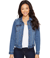 Liverpool - Classic Denim Jacket in Vintage Super Comfort Stretch Denim