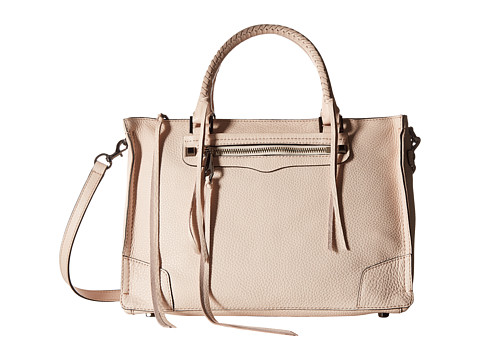 Rebecca Minkoff Regan Satchel Tote - Soft Blush