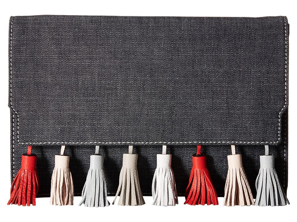 Rebecca Minkoff Sofia Clutch (Dark Denim Multi) Clutch Handbags